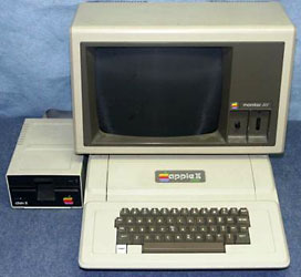 Apple II+ system
