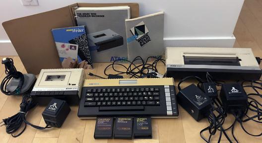 Atari 600XL gear