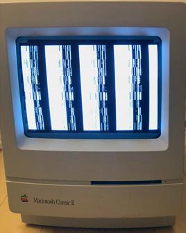 Classic II with bad screen