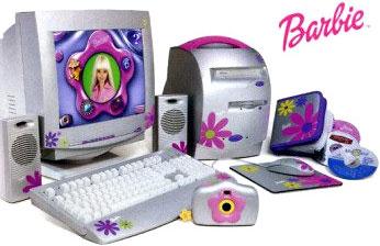 Barbie computer