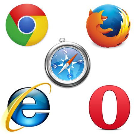 top five browsers
