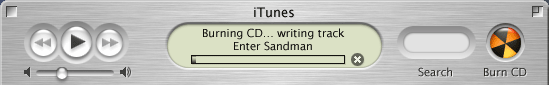 iTunes burning your music to CD