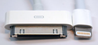 30-pin doc connector and lightning