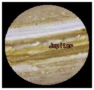 Jupiter in The Digital Universe