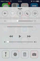 iOS7-controlcentre