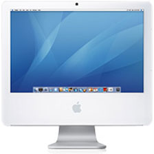 Core 2 Duo white iMac