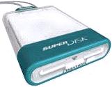 Imation SuperDisk USB drive