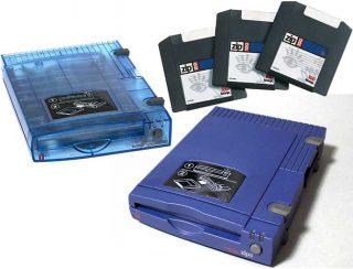 Iomega Zip drives and disks
