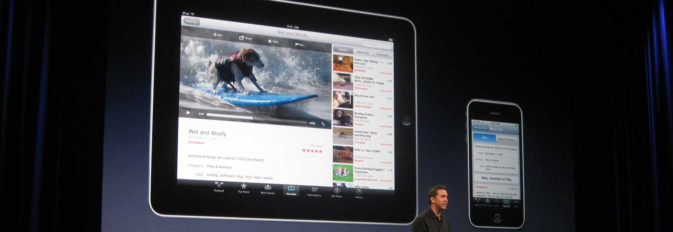 iPad introduction, January 27, 2010