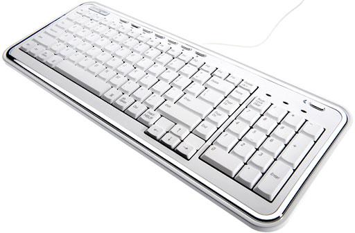 Kensington white SlimType keyboard for Mac