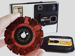 Kodak Disc 4000 and Disk film
