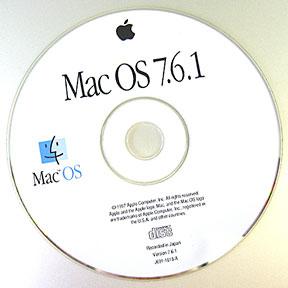 Mac OS 7.6.1 install CD