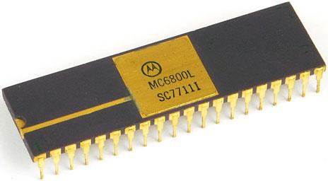 Motorola 6800 CPU