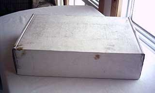 BacBook shipping box