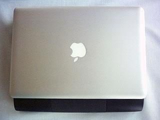 Aluminum MacBook on top of Pismo PowerBook