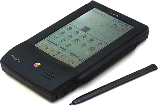Newton MessagePad with stylus