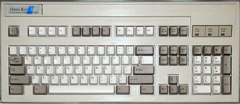 Northgate Omnikey 101 keyboard