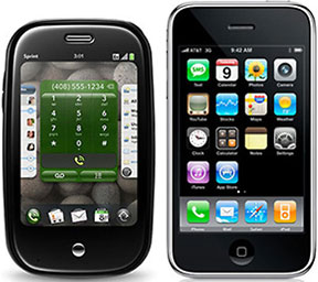 Palm Pre and iPhone 3G