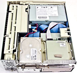 Power Mac 7500 interior