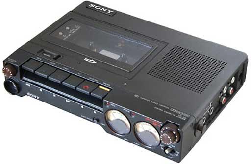 Sony TC-D5 stereo cassette recorder