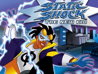DC's Static Shock super hero