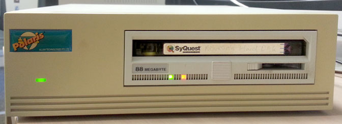 external SyQuest drive