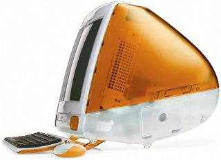 tangerine iMac
