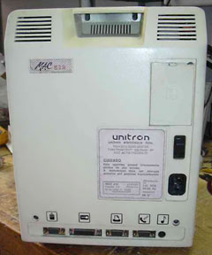 rear of Unitron 512