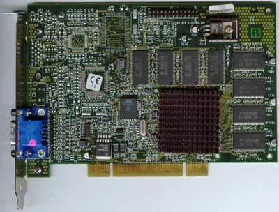 Voodoo3 PCI video card