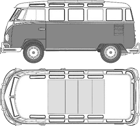 Bulli Volkswagen Microbus Reincarnated With An IPad Twist