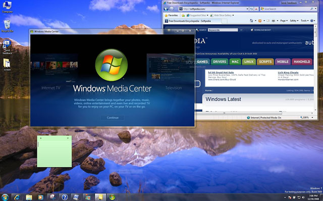 Windows 7 screeb capture