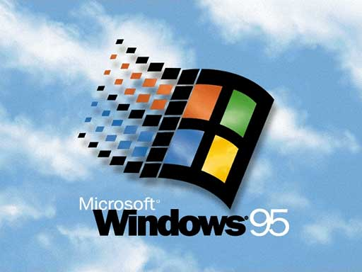 Windows 95 splash screen