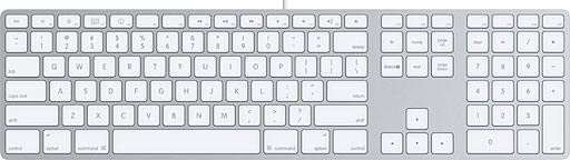 Apple Aluminum USB Keyboard