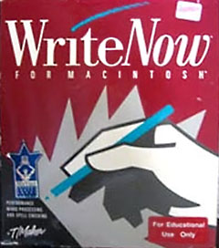 WriteNow for Macintosh